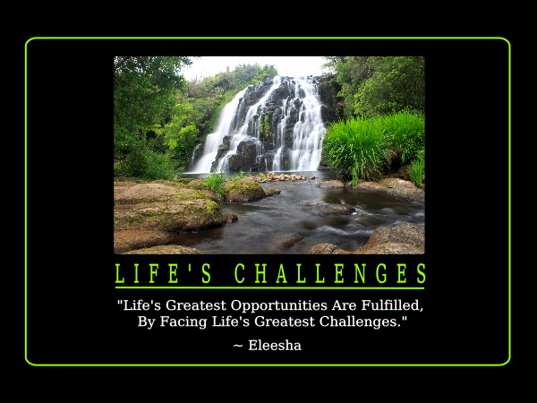 life 39 s challenges inspiration quote affirmation
