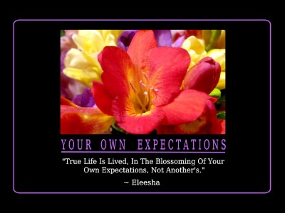 ~ What To Expect Now You Are Here ~