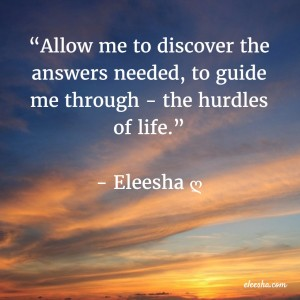 00014 Allow me to discover PicQuote by Eleesha Inspiration Quote Affirmation Sayings