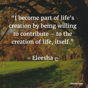 00019 I become part PicQuote by Eleesha Inspiration Quote Affirmation Sayings