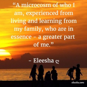 00022 A microcosm PicQuote by Eleesha Inspiration Quote Affirmation Sayings