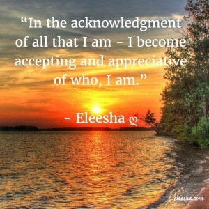 00076 In the acknowledgment PicQuote by Eleesha Inspiration Quote Affirmation Sayings