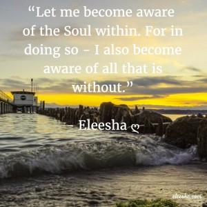 00079 Let me become aware PicQuote by Eleesha Inspiration Quote Affirmation Sayings