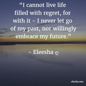 00105 I cannot live life filled PicQuote by Eleesha Inspiration Quote Affirmation Sayings