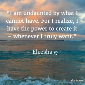 00120 I am undaunted PicQuote by Eleesha Inspiration Quote Affirmation Sayings