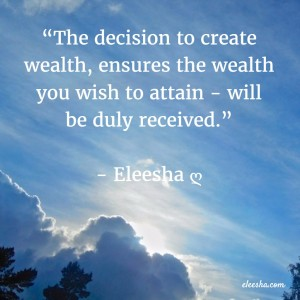 00010 The Decision To Create PicQuote by Eleesha Inspiration Quote Affirmation Sayings