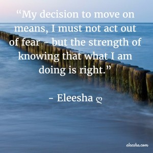 00029 My decision PicQuote by Eleesha Inspiration Quote Affirmation Sayings
