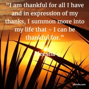 00034 I am thankful PicQuote by Eleesha Inspiration Quote Affirmation Sayings