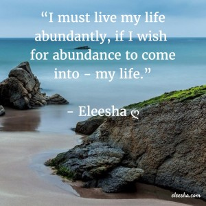 00035 I must live PicQuote by Eleesha Inspiration Quote Affirmation Sayings