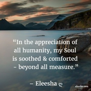 00040 In the appreciation PicQuote by Eleesha Inspiration Quote Affirmation Sayings