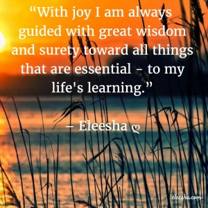 00048 With joy I am  PicQuote by Eleesha Inspiration Quote Affirmation Sayings