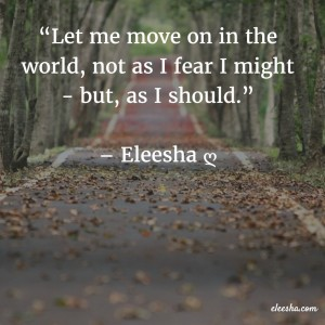 00124 Let me move on PicQuote by Eleesha Inspiration Quote Affirmation Sayings